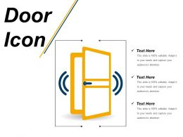 Door Icon 12 Ppt Images Gallery
