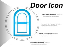 Door Icons 9 Ppt Sample Download