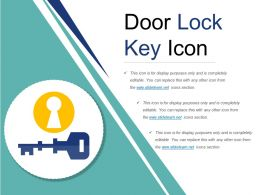 Door Lock Key Icon