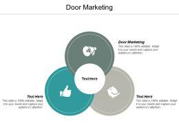 Door Marketing Ppt Powerpoint Presentation Ideas Guidelines Cpb