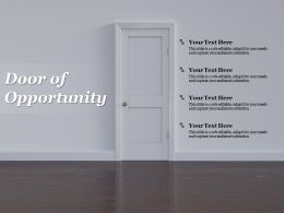 Door Of Opportunity