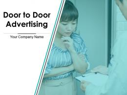 Door To Door Advertising Powerpoint Presentation Slide