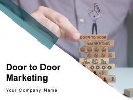 Door To Door Marketing Powerpoint Presentation Slides