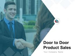 Door To Door Product Sales Powerpoint Presentation Slides