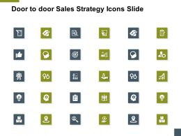 Door To Door Sales Strategy Icons Slide A175 Ppt Powerpoint Presentation Model Deck
