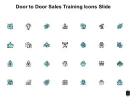 Door To Door Sales Training Icons Slide Financial C200 Ppt Powerpoint Presentation Outline Diagrams