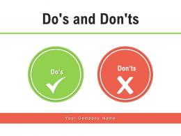 Dos And Donts Marketing Audience Professional Business Analysis Finances