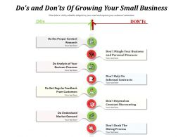 Dos And Donts Of Growing Your Small Business