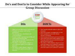 Dos And Donts To Consider While Appearing For Group Discussion