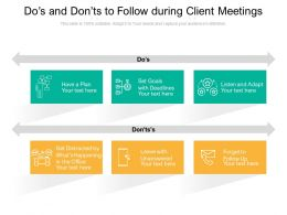 Dos And Donts To Follow During Client Meetings