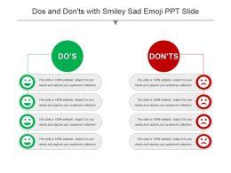 dos_and_donts_with_smiley_sad_emoji_ppt_slide_Slide01