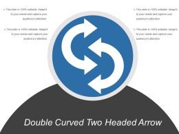 Double Curved Two Headed Arrow