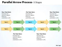 Double Parallel Arrow Process 4
