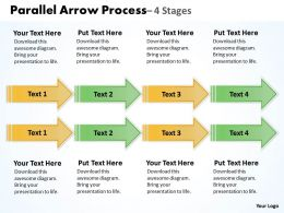 Double Parallel Arrow Process 6