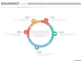 doughnut_chart_with_percentage_analysis_powerpoint_slides_Slide01