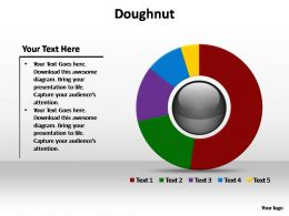 doughnut editable powerpoint templates