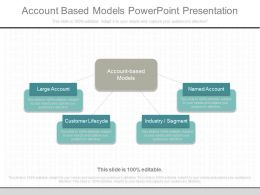 Download Account Based Models Powerpoint Presentation