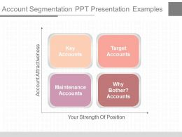 Download Account Segmentation Ppt Presentation Examples
