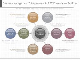 Download Business Management Entrepreneurship Ppt Presentation Portfolio