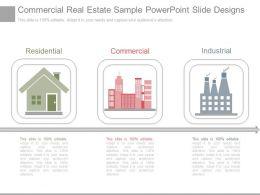 Download Commercial Real Estate Sample Powerpoint Slide Designs