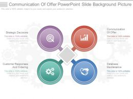 Download Communication Of Offer Powerpoint Slide Background Picture
