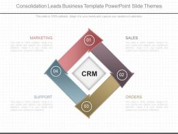 Download Consolidation Leads Business Template Powerpoint Slide Themes