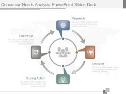 Download Consumer Needs Analysis Powerpoint Slides Deck
