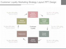 Download Customer Loyalty Marketing Strategy Layout Ppt Design