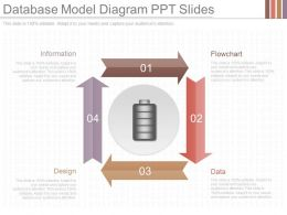 Download Database Model Diagram Ppt Slides