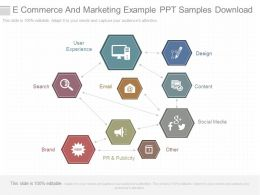 Download E Commerce And Marketing Example Ppt Samples Download