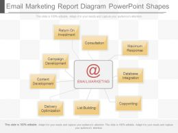 Download Email Marketing Report Diagram Powerpoint Shapes