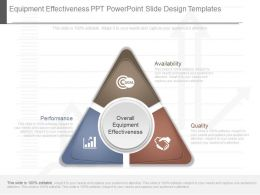 Download Equipment Effectiveness Ppt Powerpoint Slide Design Templates