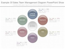 Download Example Of Sales Team Management Diagram Powerpoint Show