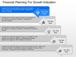 download Financial Planning For Growth Indication Powerpoint Template
