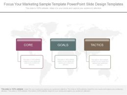 Download Focus Your Marketing Sample Template Powerpoint Slide Design Templates