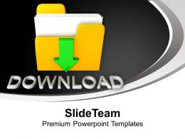 Download Folder Internet Powerpoint Templates Ppt Backgrounds For Slides 0113