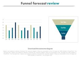 download Funnel Forecast Review Powerpoint Slides