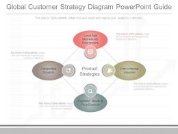 Download Global Customer Strategy Diagram Powerpoint Guide
