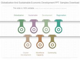 Download Globalization And Sustainable Economic Development Ppt Samples Download