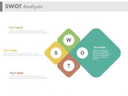 download Infographics For Swot Analysis Flat Powerpoint Design