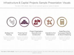 Download Infrastructure And Capital Projects Sample Presentation Visuals