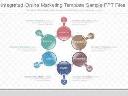 Download Integrated Online Marketing Template Sample Ppt Files