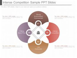 Download Intense Competition Sample Ppt Slides