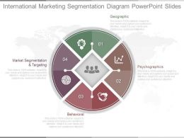 Download International Marketing Segmentation Diagram Powerpoint Slides
