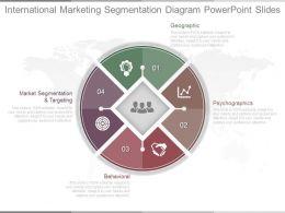 Download International Marketing Segmentation Diagram Powerpoint Slides