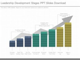 Download Leadership Development Stages Ppt Slides Download