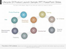 download_lifecycle_of_product_launch_sample_ppt_powerpoint_slides_Slide01