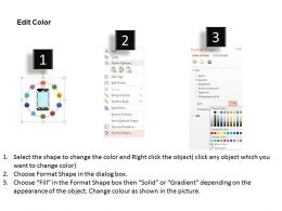 download Mobile And Multiple Apps For Social Media Applications Flat Powerpoint Design