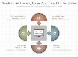 Download Needs Of Ad Tracking Powerpoint Slide Ppt Templates