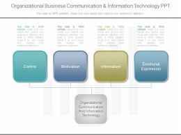 4260878 Style Hierarchy 1-Many 4 Piece Powerpoint Presentation Diagram Infographic Slide